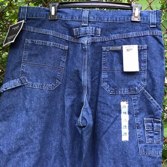b344b123 Lee Jeans | Nwt Riveted By Womens Carpenter 16 P | Poshmark
